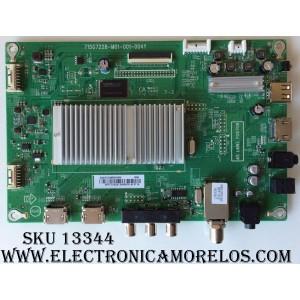 MAIN / SHARP 756TXGCC0QK0040 / 715G7228-M01-001-004Y / XGCC0QK004 / XGCC0QK004040X / (X)XGCC0QK004030X / PANEL TPT500J1-HVN07.U REV:S500C / MODELO LC-50LB481U