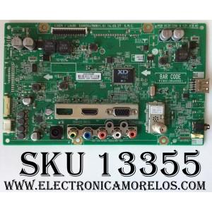 MAIN / LG EBR78528705 / 62409005 / EAX65547909(1.0) / MODELO 29LB4510-PU.AUSQLPM / PANEL V290BJ1-LE2 Rev.C1