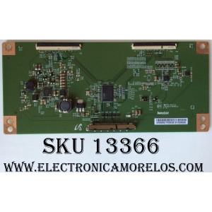 T-CON / LG 4V9Q69JT / E222034 / 15090502 / 4V9Q69JTR3538191508300 / PANEL NC500DUN-VXBP3 / MODELOS 50LF6100-UA / 50LF6100-UA BUSJLOR
