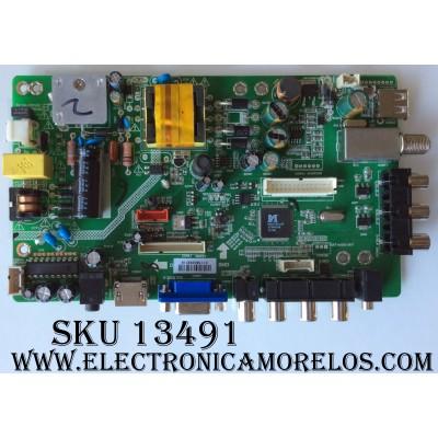 MAIN / FUENTE (COMBO) / RCA 24GE01M3393LNA21-A2 / LG-RE01-150512-ZQ / LDD.M3393L.D / MODELO LED24C45RQD