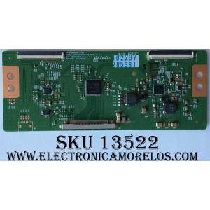 T-CON / LG 2856B / 6870C-0401B / SUSTITUTAS 6871L-2753M / MODELO 55LM5800-UC / PANEL LC550EUE(SE)(F1)