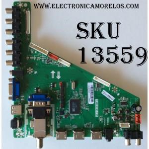 MAIN / GPX B15041424 / T.MS3393.715 / MODELO TDE4855B / PANEL LSC480HN06