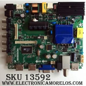 MAIN / FUENTE / (COMBO) / ELEMENT K17020332 / TP.MS3393.PB751 / MODELO ELFW4017 / PANEL LQ400D3HD1K