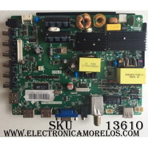 MAIN / FUENTE / (COMBO) PROSCAN / RCA B16010201 / TP.MS3393.PC822 / ST1601A / PANEL V500HJ1-PE8
