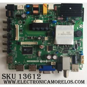 MAIN / FUENTE / (COMBO) ELEMENT L16031623 / SY16090 / TP.MS3393.PB801 / VER: 0x3EF8 / MODELO ELEFW3916 / PANEL T390XVN01.0
