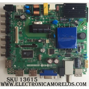 MAIN / FUENTE / (COMBO) K15092880 / AE0010345 / FAE0010345 / TP.MS3393.PB801 / MODELO LED32G45RQ / PANEL LSC320HN07