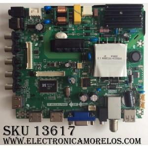 MAIN / FUENTE (COMBO) / ELEMENT K17010194 / 890-M00-06NBX / E17023-SY / TP.MS3393.PB801 / MODELO ELEFW3916 / PANEL T390XVN01.0