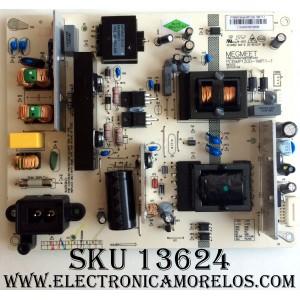 FUENTE DE PODER / HITACHI MP120D-1MF11-1 / PCB:MP120D-1MF11-1 REV:1.0 / E214852 / MODELO LU43V809