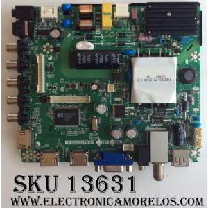 MAIN / FUENTE (COMBO) / ELEMENT K17010206 / E17023-2-SY / 890-M00-06NBX / TP.MS3393.PB801 / MODELO ELEFW3916 / PANEL LC390TU1A