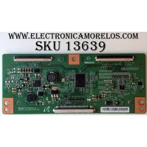 T-CON / RCA 1DY172HFE / E88441 / V500HJ3-CPE1 / MODELO LED50B45RQ / PANEL V500HJ3-PE1-12V