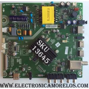 MAIN / FUENTE (COMBO) PROSCAN / 193420 / 186313 / RSAG7.820.6482/ROH / LTDN40K220WUS(1) / EG0323 / TP1646A3P3 / MODELO PLDED4079-SM A1604 / HISENSE 40H5B / PANEL HD400DF-E32