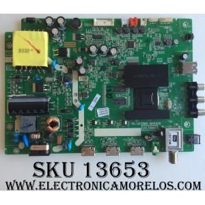 MAIN / FUENTE / (COMBO) / TCL GTC000063A / V8-UX38001-LF1V023(J3) / 40-UX38M0-MAD2HG / UX38M0 / MODELO 40FS3800TCAA / PANEL LVF400CMOT E225