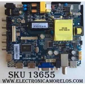 MAIN / FUENTE /(COMBO) / ELEMENT 72H0185 / 890-M00-03N77 / 10016378 / CV3393BH_Q42_12_P4 / CV3393BH-Q42 / E17026-SY / MODELO  ELFW5017