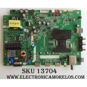 MAIN / FUENTE / (COMBO) / TCL T8-32NAZP-MA1 /  40-UX38M0-MAD2HG / T8-32NAZP-MA1 / V8-UX38001-LF1V029 / V8-UX38001-LF1V030(B3) / MODELO 32S3750TSAA