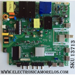 MAIN / FUENTE / (COMBO) A17030685 / TP.MS3458.PC757 / AE0010878 / PANEL V500DJ6-QE1