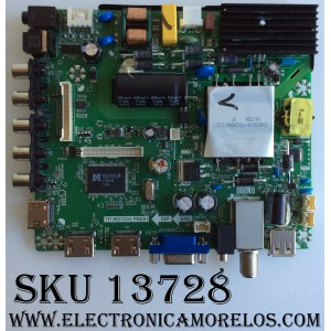 MAIN / FUENTE / (COMBO) / SEIKI L16032101 / TP.MS3393.PB801 / SY16155-1 / 890-M00-06NC6 / PANEL T430HVN01.6