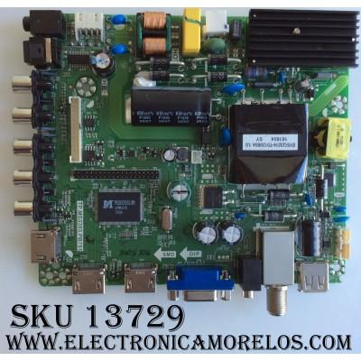 MAIN / FUENTE (COMBO) / RCA K16088766 / TP.MS3393.PB751 / AE0010615 / MODELO RLDED4016A-H / PANEL V400HJ6-PE6 C9