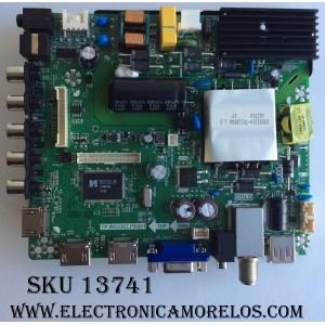 MAIN / FUENTE / (COMBO) / ELEMENT K16060555 / TP.MS3393.PB801 / SY16200 / MODELO ELEFW5016 / PANEL V500HJ1-PE8