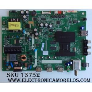 MAIN / FUENTE / (COMBO) / TCL GTC000219A / V8-UX38001-LF1V025(J2) / 40-UX38M0-MAD2HG / UX38M0 / MODELO 32S3750