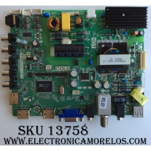 MAIN / FUENTE / (COMBO) / SANYO B15082687 / TP.MS3393T.PB79 / 3MS3393X-2 / MODELO FW42D25T