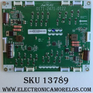DRIVER LED / VIZIO 3655-0072-0111 / 0171-2471-0122 / P212385A_11 / M ODELO M55-E0 LAUAROAT