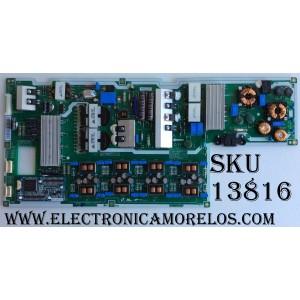 FUENTE DE PODER / SAMSUNG BN44-00657A / BN4400657A / L65U2L_DSM / PSFL261U716L / MODELO UN65F8000BFXZA TS01 / PANEL CY-KF650DDSAV2H