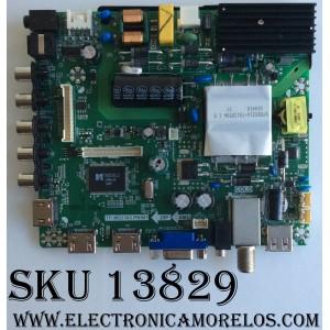 MAIN / FUENTE (COMBO) / ELEMENT  K17030614 / TP.MS3393.PB801 / E17053-SY / 890-M00-06NC6 / MODELO ELFW5017 / PANELT500HJ1-PE8(C7)