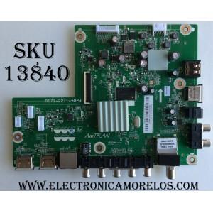 MAIN / SHARP 3648-0112-0395 / 0171-2271-5824 / 3648-0112-0150 (4A) / MODELO LC-48LE653U / PANEL LSC480HN08-G01