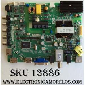 MAIN / FUENTE / (COMBO) / SANYO B15082699 / TP.MS3393T.PB79 / 3MS3393X-2 / MODELO FW42D25T