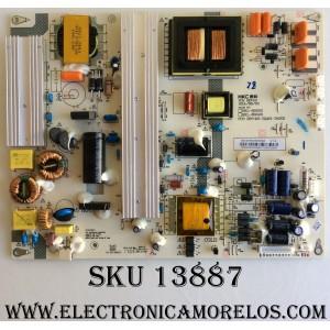 FUENTE DE PODER / HITACHI 50326502000060 V1.2 / 50326502000060 / 401-2Q401-D4202 / HKL-650201 / HKL-650401 / CQC13134100687 / MODELOS 65K3 / LE65K6R9 / SLED6516