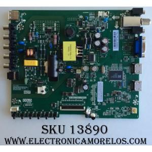"MAIN / FUENTE / (COMBO) / SANYO B16128140 / TP.MS3393T.PB952 / MODELO 32"" / PANEL HV320WHB-N06"