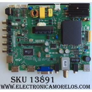 MAIN / FUENTE / (COMBO) / SANYO B15020861 / TP.MS3393T.PB79 / 3MS3393X-2 / 02-SHS39A-C002000