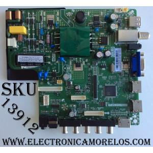 MAIN / FUENTE (COMBO) / SCEPTRE U17052181 / TP.MS3553.PB855 / 65W1 / MODELO U32 / PANEL HV320WHB-N80