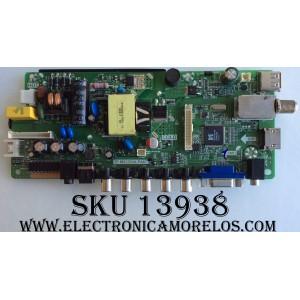 MAIN / FUENTE (COMBO) / ELEMENT H16071063 / TP.MS3393A.PA671 / f67f / MODELO ELEFW195