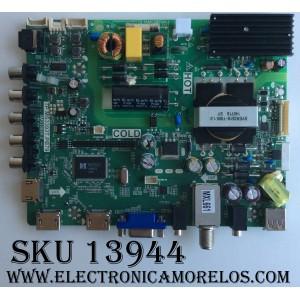 MAIN / FUENTE / (COMBO) / SANYO B14020653 / TP.MS3393T.PB79 / 3MS3393X-2 / 02-SHY39A-CXS001 / MODELO DP39D14