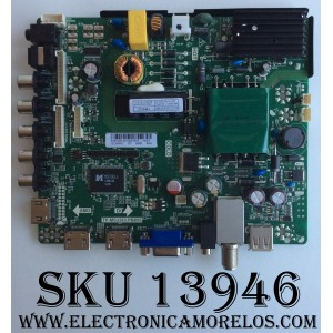 MAIN / FUENTE / (COMBO) / SCEPTRE B16128129 / TP.MS3393.PB855 / T201611087B / MODELO E32 / PANEL LSC320AN13