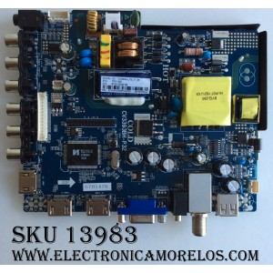 MAIN / FUENTE / (COMBO) PROSCAN 67H1470 / CV3393BH-P32 / T201607082A-10 / 8142123332180 / MODELO PLDED3280A-D / PANEL LSC320AN13