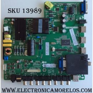 MAIN / FUENTE / (COMBO) / SCEPTRE 50043393B01230 / TP.MS3393.P712 / MODELO X505BV-FMQC X505BV-FMQC8LJAV93CH / PANEL LLTH500WLEDM-LH7MH / LC500DUJ-SGE2