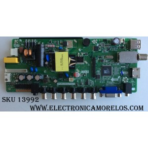 MAIN / FUENTE (COMBO) /  ELEMENT H16050657 / TP.MS3393A.PA671 / 3200187887 / MODELO  RLED1945A-E