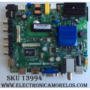 MAIN / FUENTE / (COMBO) / ELEMENT H16071230 / TP.MS3393.PB801 / 34016550 / VERSION 1B00 20160801_10714 / PANEL LC390TA2A / MODELO ELEFW3916  LE-39GDXB-B3