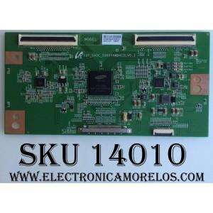 T-CON / ELEMENT LJ94-28696A / 13Y_GAOC_SQ60VAMB4C2LV0.1 / MODELO ELEFW408 / PANEL T400D3-HA24-DY4 VER .A7