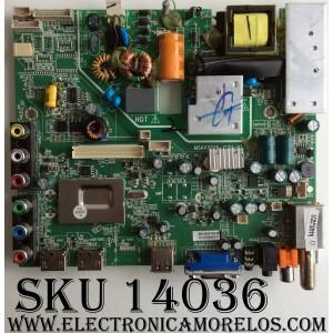 MAIN / FUENTE (COMBO) / JVC 510-131203044 / MSAV3226-ZC01-01 / MODELO LT-19EM74