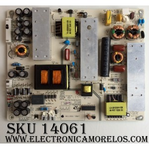 FUENTE / PROSCAN ER980B-C-140350-P03 / ER980B-C / ER980B / REV:1.0 / MODELO PLDED5515-UHD A1510