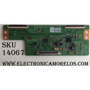 T-CON / LG 6871L-4119A / 4119A / 6870C-0480A / MODELO 42LF5600-UB BUSYLJR / PANEL LC420DUE(MG)(A3)
