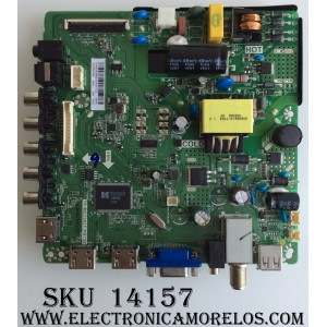 MAIN / FUENTE /(COMBO) ELEMENT H16050685 / TP.MS3393T.PB758 / VER: 20EB / MODELO ELEFW328 LE-32GJL4-B3