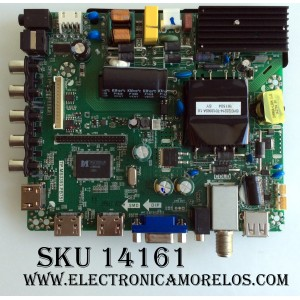 MAIN / FUENTE / (COMBO) / ATYME 40AE0010615-B1 / K16070961 / AE0010615 / TP.MS3393.PB751 / MODELO 400AM7HD / PANEL LSC400HN03-12V