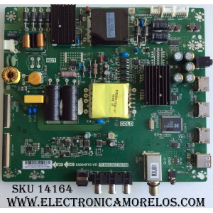 MAIN / FUENTE / (COMBO) INSIGNIA 55.50S12.2E4 / 5550S122E4 / S500HF53 VD / TP.MS3393T.PC792 / T500HVN07.5 / SC-SY16064832 / MODELO NS-50D510NA17 / PANEL T500HVN07.5