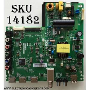 MAIN / FUENTE (COMBO) TCL L16116292 / MS553P1 / TP.MS3553.PB778 / GTC000905A / T8-32NA27-MA1 / 02-SHY53P1-CHNA01 / V8-MS553P1-LF1V060 / MODELO 32D100