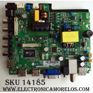 MAIN / FUENTE / (COMBO) ELEMENT 34016251 / TP.MS3393.PB818 / H16060917 / MODELO ELEFW328 G6B4M