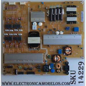 FUENTE DE PODER / SAMSUNG BN44-00833A / L48E8_FHS REV:1.1 / MODELO UN55JS850DFXZA TH01 / PANEL CY-QJ055FLLV2H